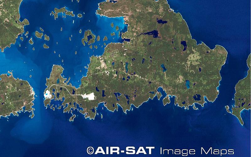 DrummondIslandSat-Map