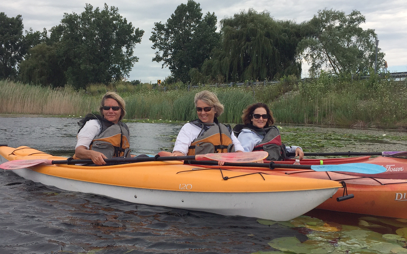 Harsens-kayakers
